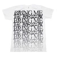 Bring me the Horizon Stacked Logo T-Shirt - Color - White - Size - Large