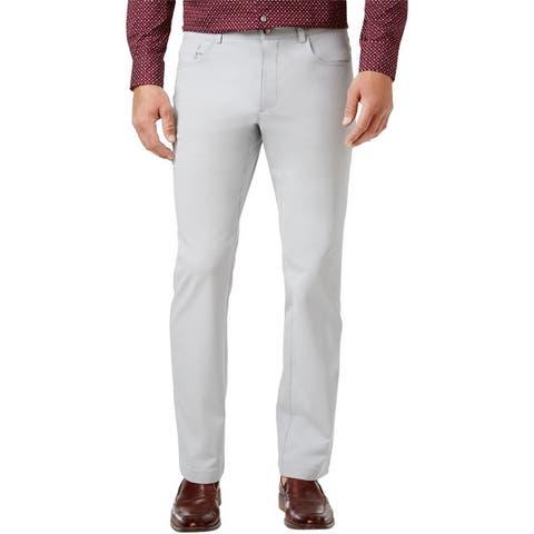 I-N-C Mens Stretch Casual Trouser Pants