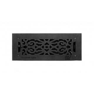 Floor Heat Register Louver Vent Victorian Cast 4 x 12 Duct Renovator's Supply