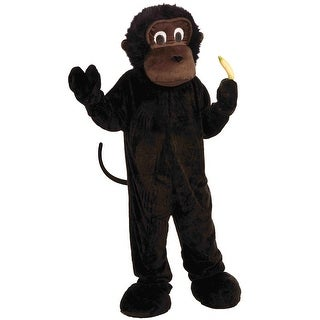 Forum Novelties Gorilla Mascot Adult Costume - Black - Standard