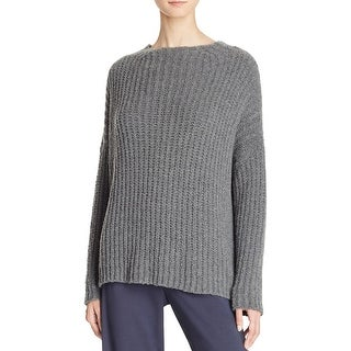 Vince Womens Pullover Sweater Funnel Ladder Stitch