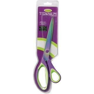 "Titanium Dressmaker Scissors 10""-Purple/Green|https://ak1.ostkcdn.com/images/products/is/images/direct/47e8bed723547335091e32f73f95e371214c4c0b/Titanium-Dressmaker-Scissors-10%22-Purple-Green.jpg?impolicy=medium"