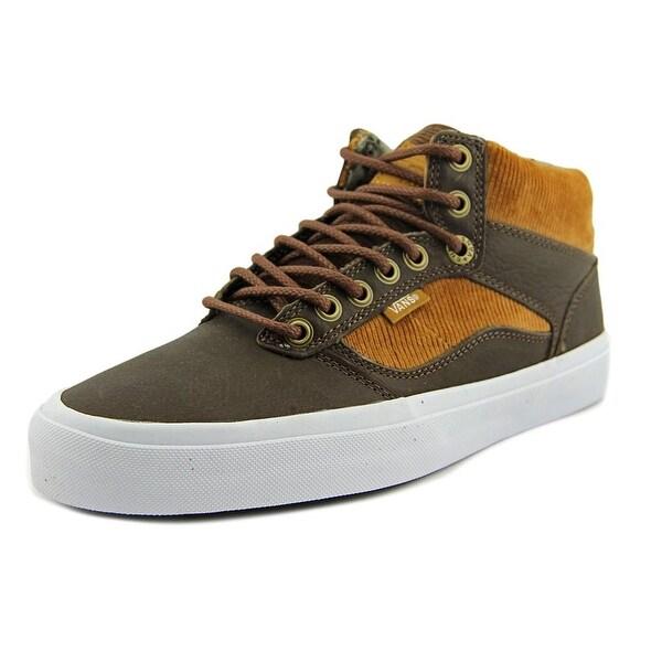 Vans Bedford Men Round Toe Canvas Brown Sneakers