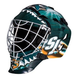 San Jose Sharks Full Size Youth Goalie Hockey Mask