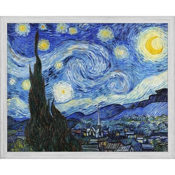 Easy Art Prints Vincent Van Gogh S Starry Night Premium Canvas Art Overstock 25743048