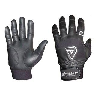 Akadema Black Youth Batting Gloves Large