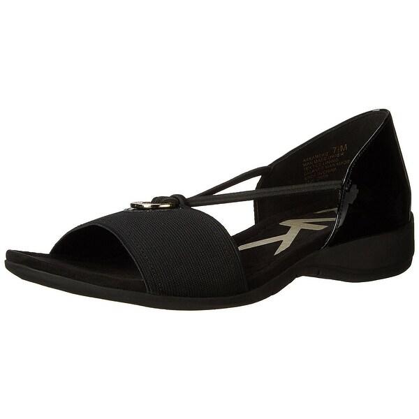 Anne Klein Womens Kameko Open Toe Casual Slide Sandals