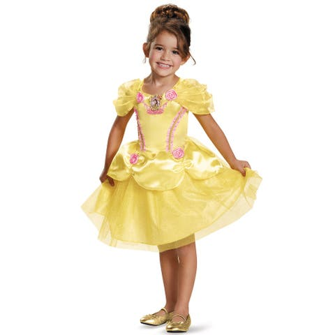 Disguise Belle Classic Toddler Costume - Yellow