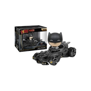 Dorbz Ridez Batman v Superman Batmobile & Vinyl Figure