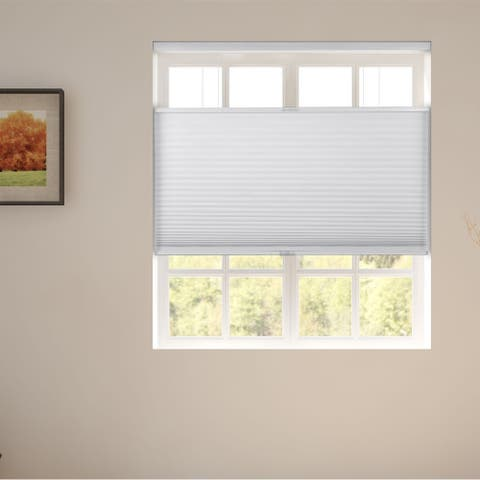 Arlo Blinds White Room Darkening Top Down Bottom Up Cellular Shades
