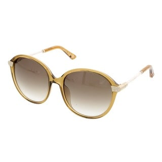Swarovski SK9044/S 39L Olive Round Sunglasses