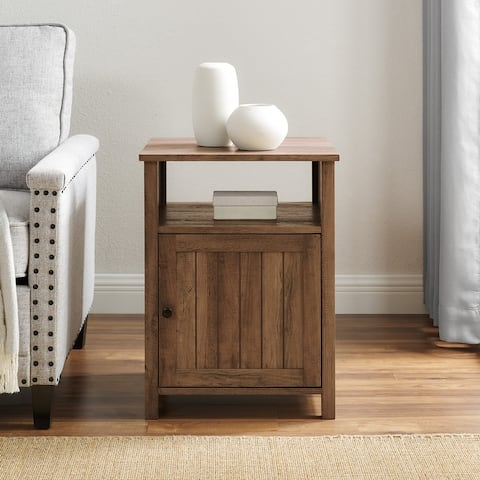 The Gray Barn 18-inch Groove Door Nightstand