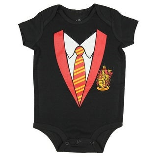 Harry Potter Unisex Baby Hogwarts Houses One Piece Snapsuit