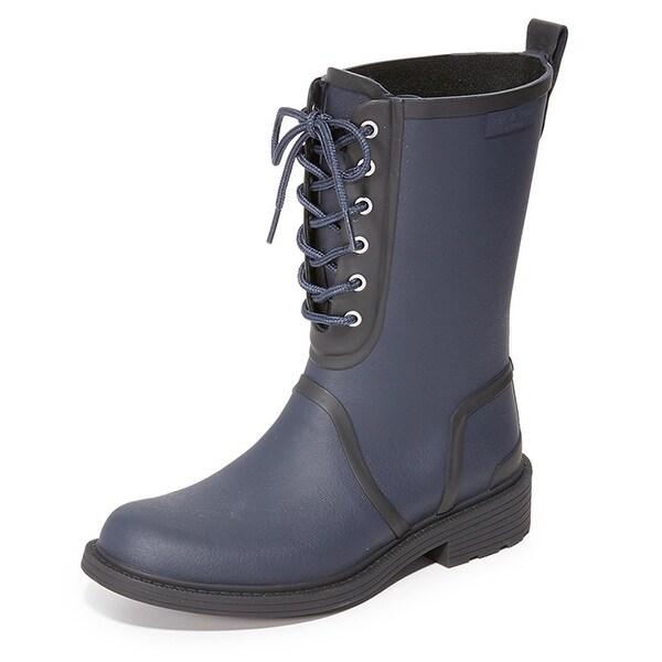 rag & bone Ansel Blue Rain Boots