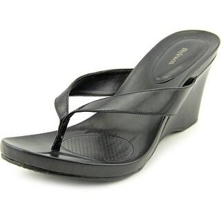 Style & Co Chicklet Open Toe Synthetic Platform Sandal