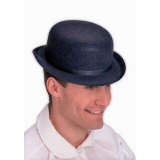 Black Felt Derby Costume Hat