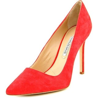 Charles David Caterina Women Pointed Toe Suede Heels