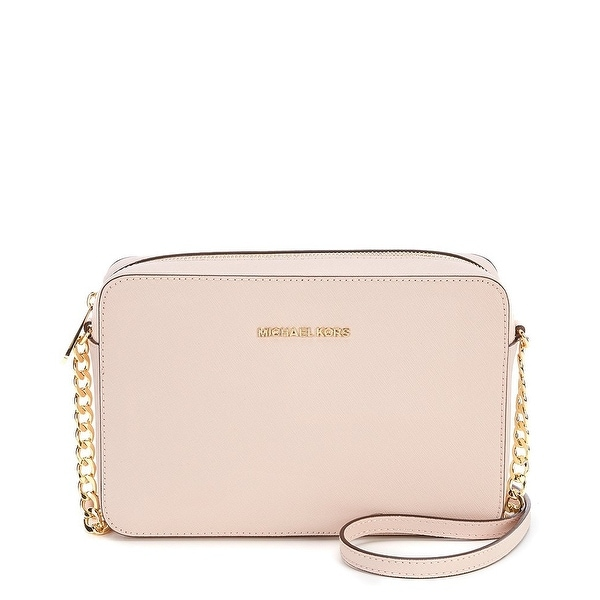 3c2967c9f127 MICHAEL Michael Kors Jet Set Travel Large East West Crossbody - Soft Pink