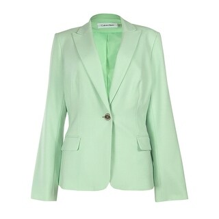 Calvin Klein Women's Classic Peaked Blazer Jacket (3 options available)