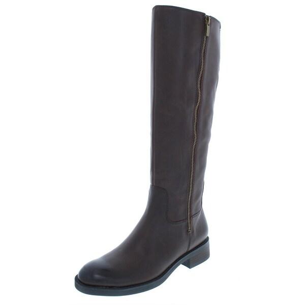 Enzo Angiolini Womens Shobi Riding Boots Leather Knee-High - 9 medium (b 8d2f59f05