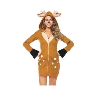 Cozy Fawn Costume, Hoty Deer Costume - Brown/Khaki