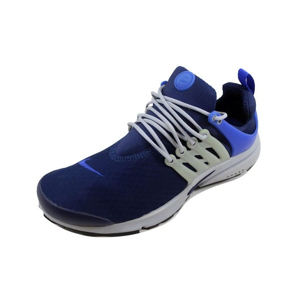131750689 Shop Nike Men's Air Presto Essential Binary Blue/Binary Blue 848187 ...