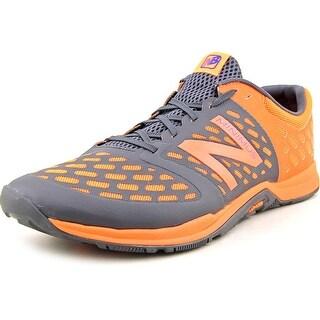 New Balance MX20 Men 2E Round Toe Synthetic Gray Trail Running