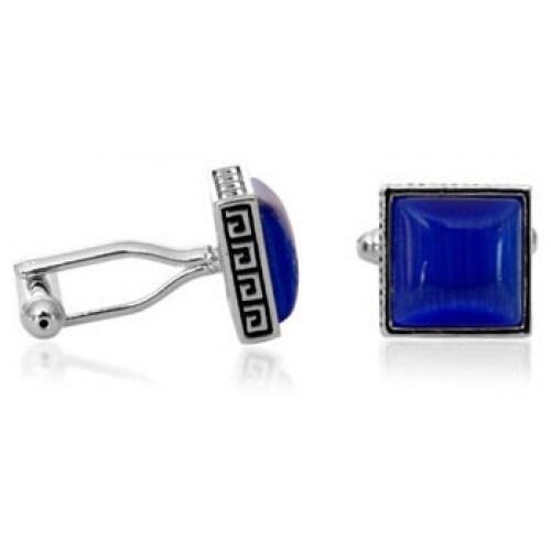 Greek Blue Cufflinks