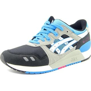 Asics Gel Lyte III Gs Round Toe Canvas Sneakers|https://ak1.ostkcdn.com/images/products/is/images/direct/47f36ef52be61498f593093aec0b830795c6581b/Asics-Gel-Lyte-III-Gs-Youth-Round-Toe-Canvas-Black-Sneakers.jpg?impolicy=medium