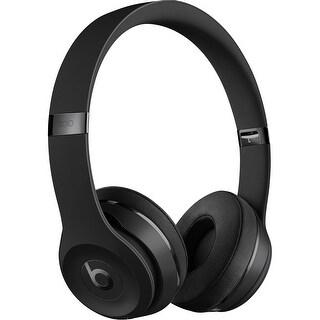 Beats Solo3 Wireless On-Ear Headphones - Matte Black (Refurbished)