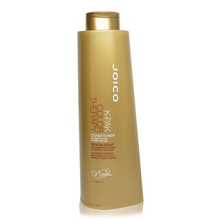 JOICO K-PAK COLOR THERAPY CONDITIONER TO PRESERVE COLOR & REPAIR DAMAGE LITER-no pump