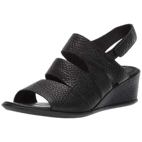 ECCO Women's Shoes Shape 35 Wedge Peep Toe Casual Slingback Sandals