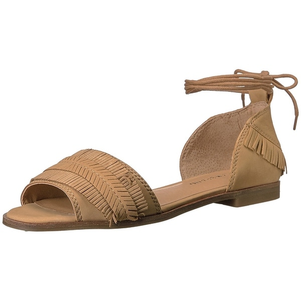 Lucky Brand Womens gelso Leather Open Toe Casual Strappy Sandals