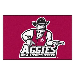 NCAA New Mexico State University Aggies Starter Mat Rectangular Area Rug