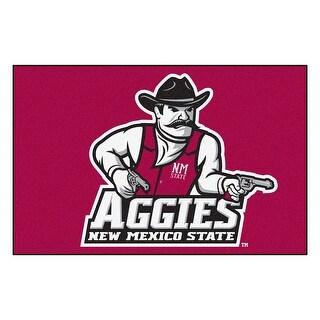 NCAA New Mexico State University Aggies Starter Mat Rectangular Area Rug