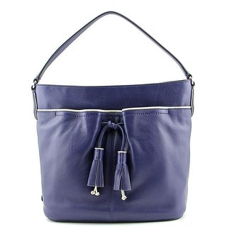 Cole Haan Reiley Tassel Hobo Leather Hobo - Blue