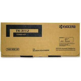 Kyocera KYOTK3112 15.5K Pages, Original Toner Cartridge - Black