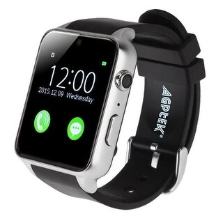 AGPtek Bluetooth Smart Wrist Watch Waterproof Resistant 4.0 Heart Rate Monitor for Android IOS