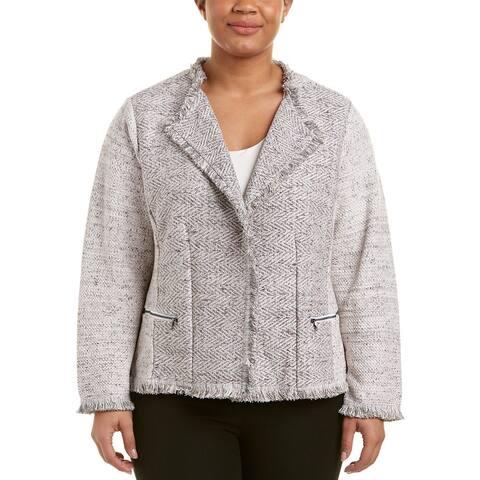 Nic+Zoe Plus Chilled Blazer Jacket
