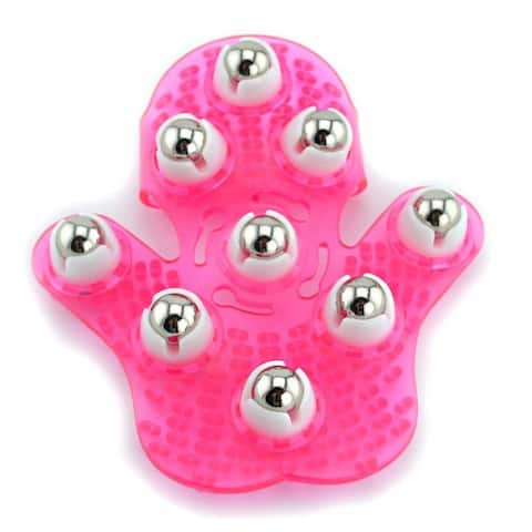 New Amazing Roller Ball Body Massage Glove Anti-Cellulite