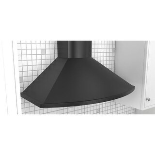 Zephyr ZSA-E30C 685 CFM 30 Inch Wide Wall Mount Range Hood with ICON Touch? Controls and Airflow Control Technology from the