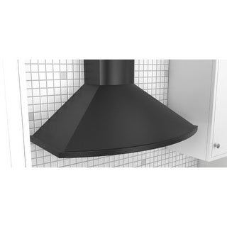 Zephyr ZSA-M90C 685 CFM 36 Inch Wide Wall Mount Range Hood with ICON Touch? Controls and Airflow Control Technology from the
