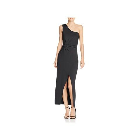 Bardot Womens Avril Maxi Dress One Shoulder Party