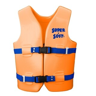 TRC Recreation Super-Soft USCG Child Vest M-Orange Breeze 1021508