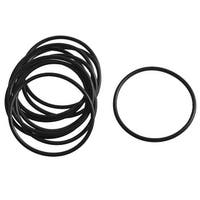 Unique Bargains 10 Pieces 39.1mm x 35.5mm x 1.8mm Rubber Oil Sealing Seal Gasket Ring