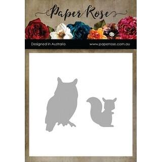 Paper Rose Dies-Owl & Squirrel
