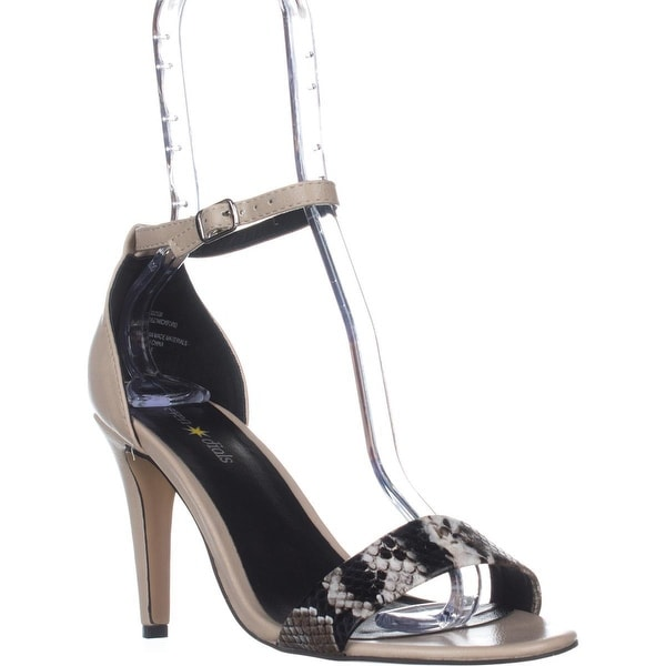 Seven Dials Wickford Ankle Strap Sandals, Nude - 7.5 us