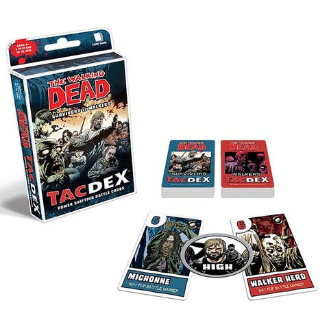 Walking Dead TacDex Card Game - multi