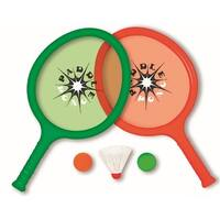 """16"""" Green and Red Paddle Pong Set Swimming Pool Game"""