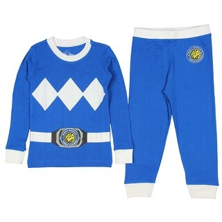Intimo Toddler Mighty Morphin Power Rangers Costume Pajama Set